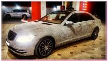 Mercedes в стразах Swarovski