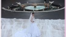 Самый длинный свадебный шлейф