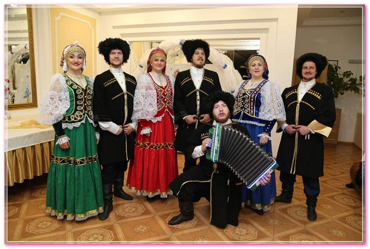 Cossack ensemble Kazachenka 2018