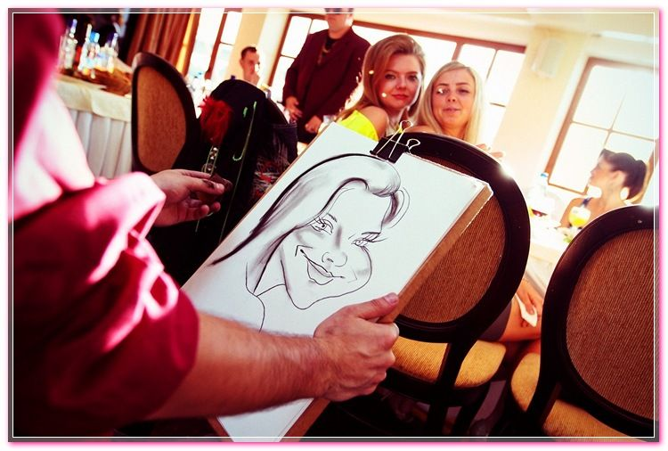 Caricaturists to a celebration N